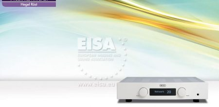HEGEL – amplificador integrado – EISA 2017-2018