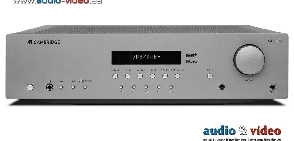 Amplificador integrado Cambridge Audio AXR100D