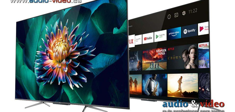 """TCL televisor LCD miniLED """"OD Zero"""" con HDMI 2.1"""