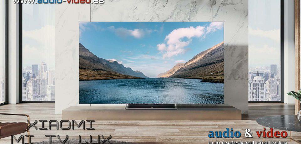 Xiaomi presenta su primer televisor OLED – HDMI 2.1, VRR, 9 altavoces