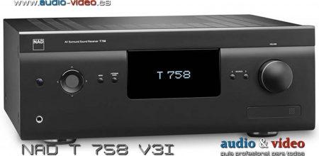 Receptor AV – NAD T 758 V3i surround sound