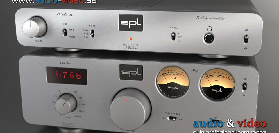 """Amplificador de auriculares – SPL Phonitor SE – monitor de """"Fidelidad Profesional""""."""