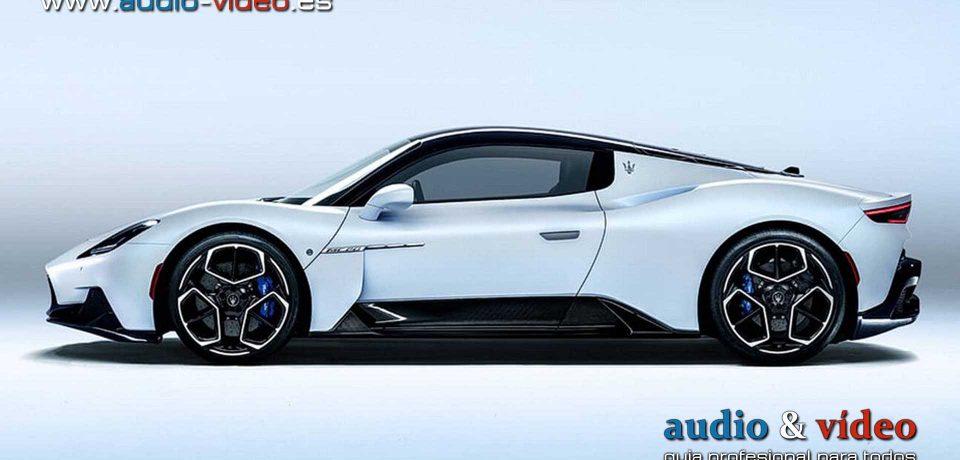 Altavoces Sonus Faber en Maserati MC20