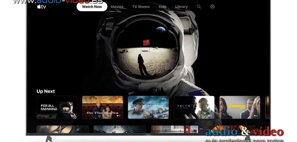 La aplicación de Apple TV llega a los primeros televisores Sony – modelos 2018-2020