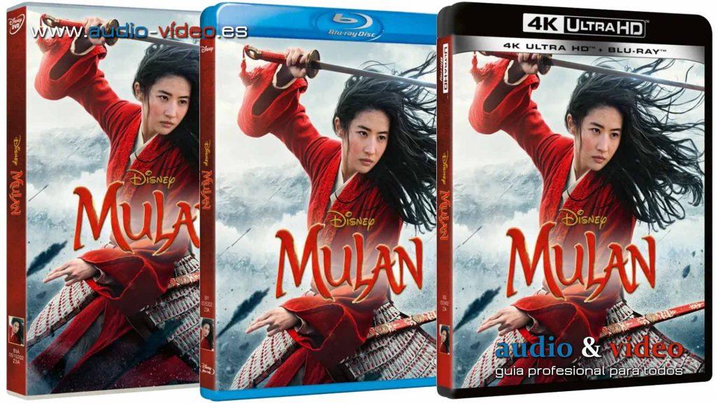 Mulan pelicula HD BluRay DVD 4K UHD