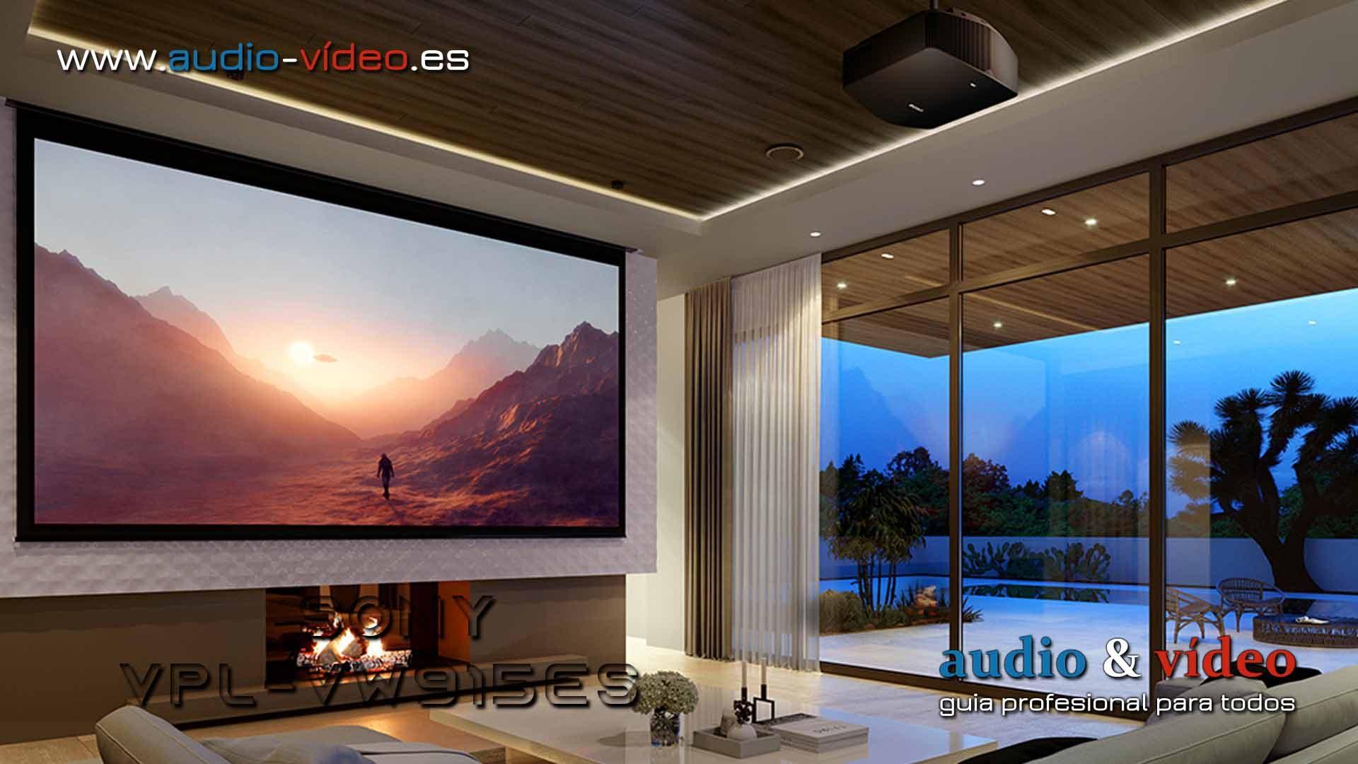 Proyector 4K : Sony VPL-VW915ES – Dual Contrast Control