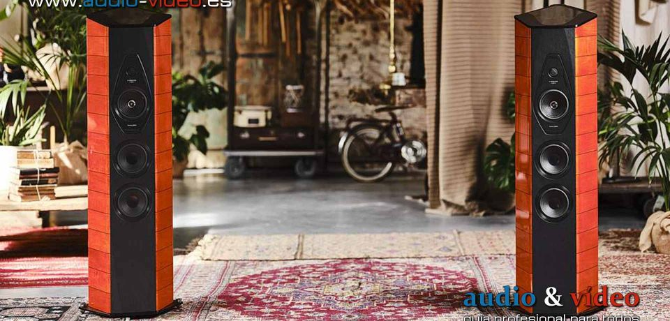 Sonus Faber Il Cremonese ex3me  – altavoces de suelo – HiEnd
