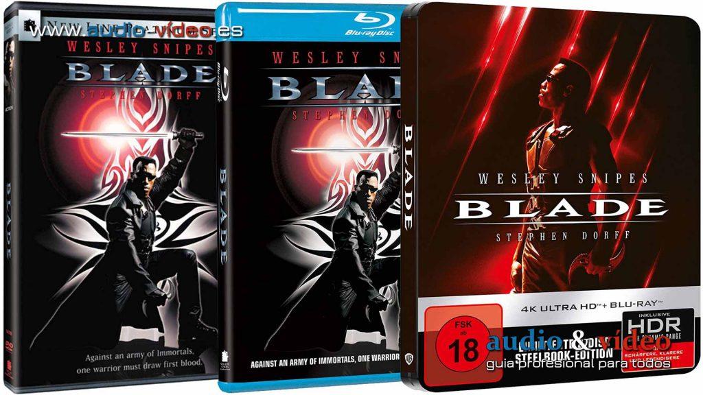 Blade - edicion UHD 4K DVD BluRay disc stelllach