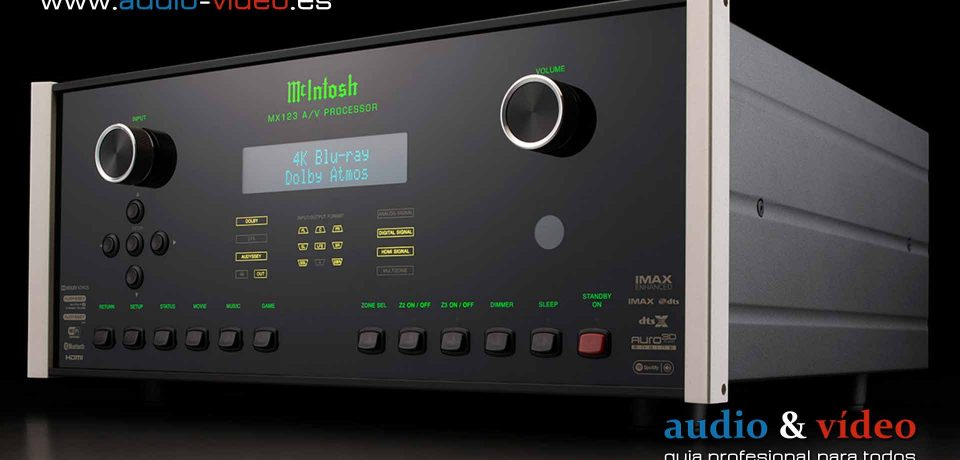 El McIntos A/V MX123 recibe una actualización a 8K