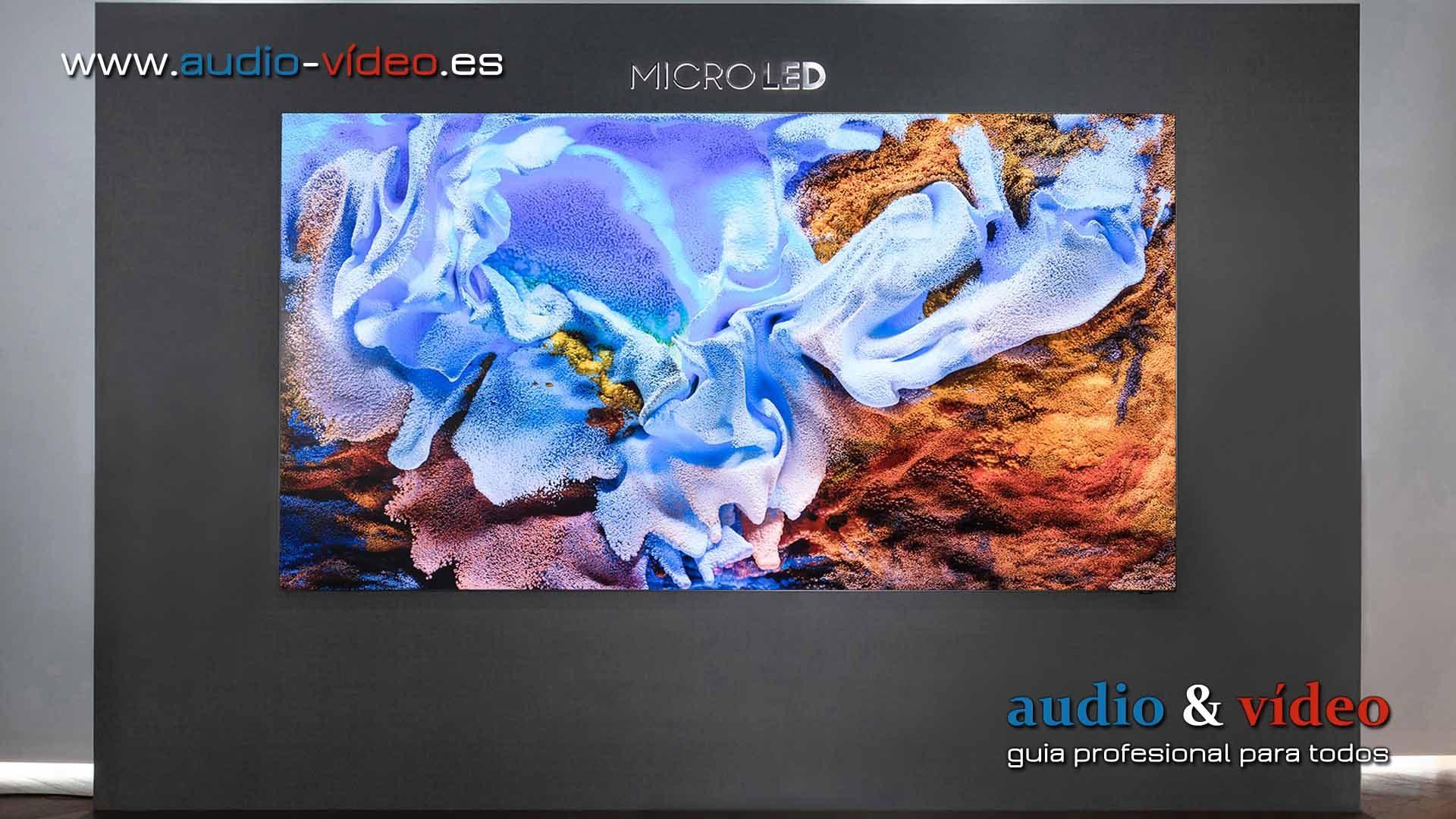 Samsung anuncia sus nuevos televisores MicroLED en 2021