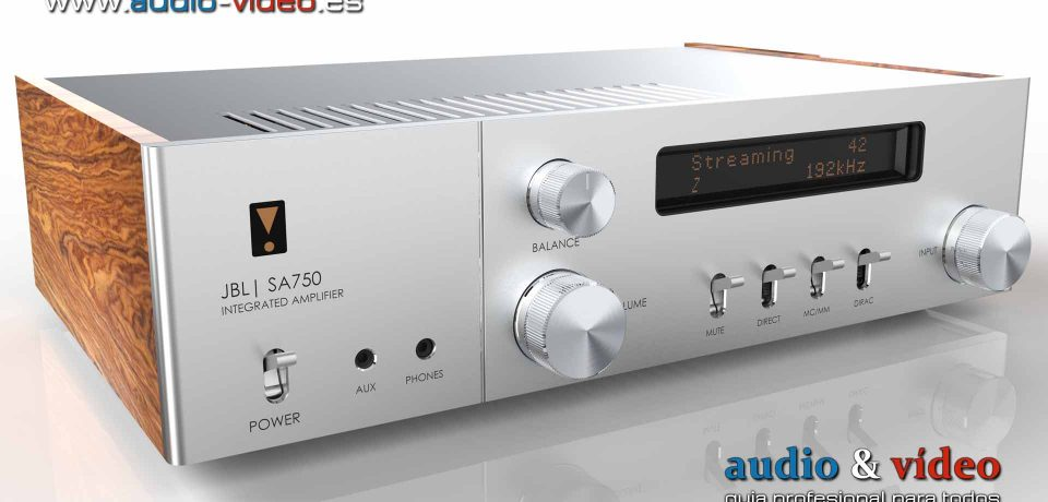 Amplificador Integrado: JBL SA750