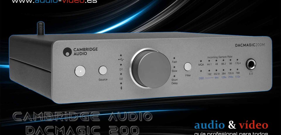 Amplificador de auriculares: Cambridge Audio – DacMagic 200M