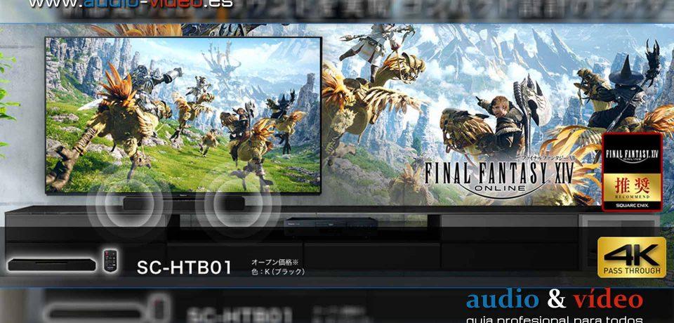 Barra de sonido: Special Edition – Panasonic SC-HTB01  – Final Fantasy XIV