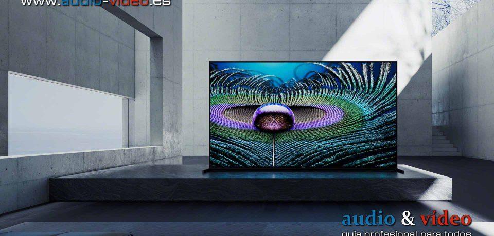 Nuevos modelos Sony TV: BRAVIA XR, Z9J 8K LED, A90J, A80J, X95J y X90J 4K LED.