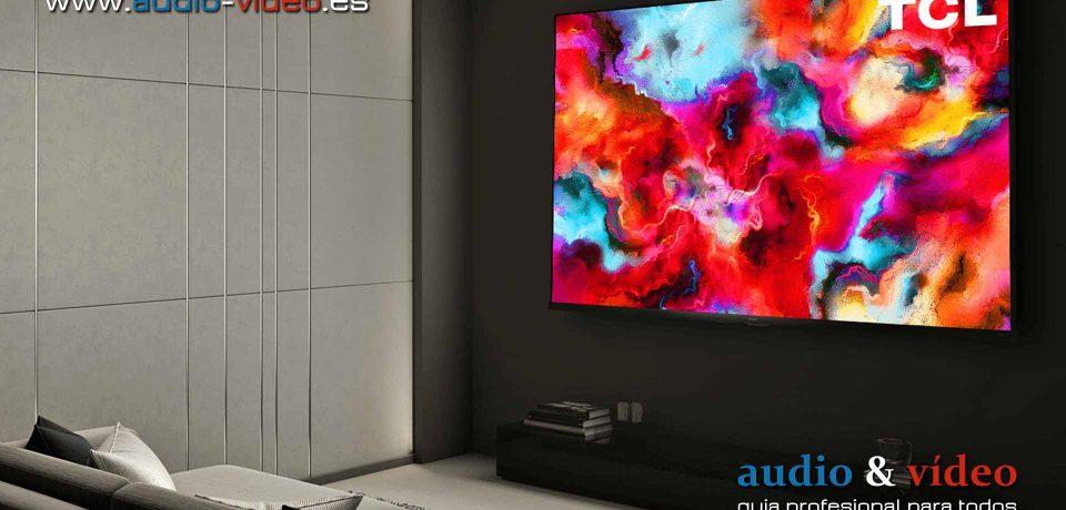 Televisor TCL Vidrian 8-Series Mini-LED 8K