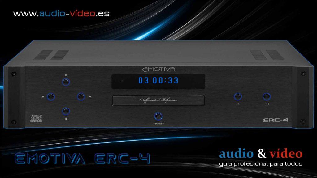 Reproductor CD - Emotiva ERC-4