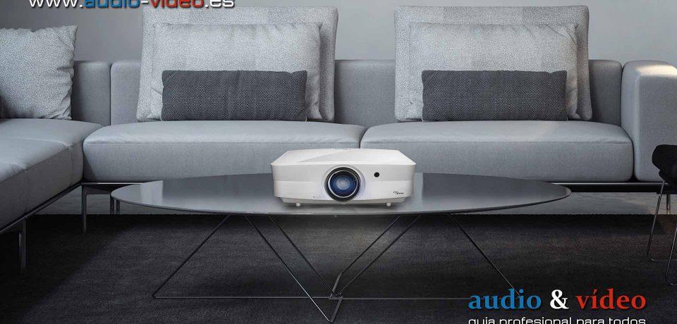 Optoma UHZ65LV DLP – proyector láser – 4K