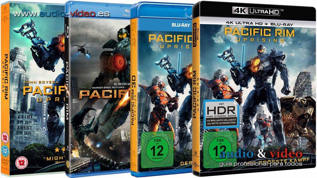 Pacific Rim - 4K UHD DVD BluRay BluRay-3D
