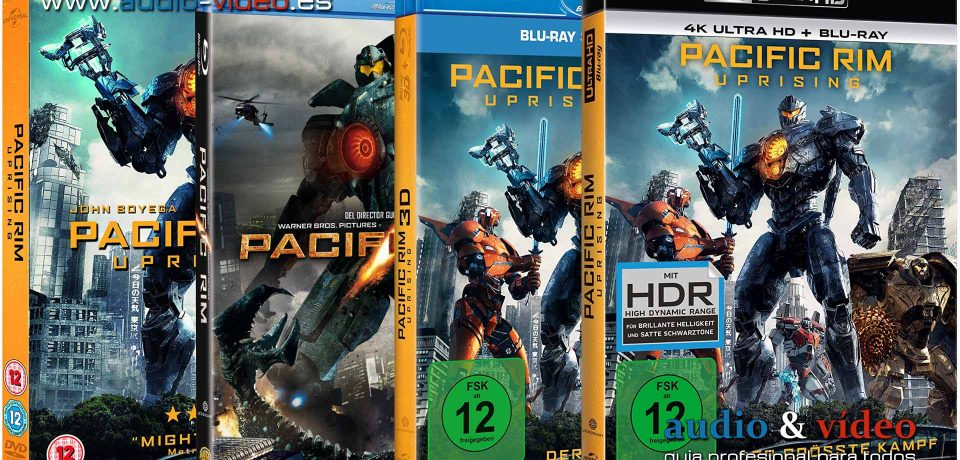 Pacific Rim – 4K, UHD, DVD, BluRay, BluRay-3D + soundtrack