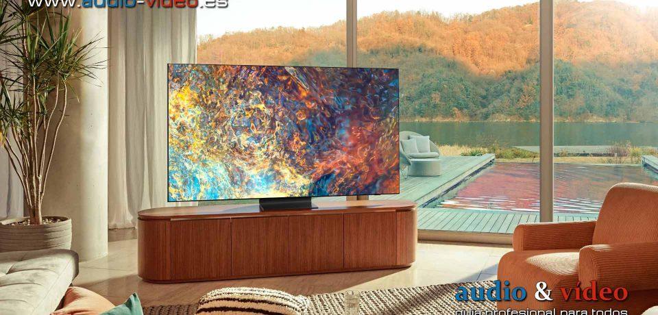 """Samsung QN900A y QN90A """"Neo QLED"""" – televisores LCD 4K y 8K"""