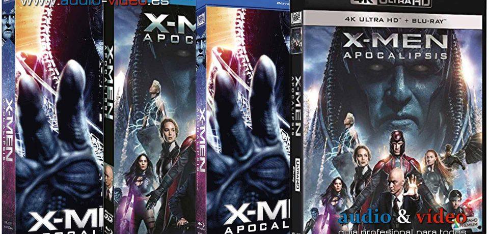 X-Men: Apocalipsis – 4K, UHD, BluRay, BluRay 3D, DVD + soundtrack