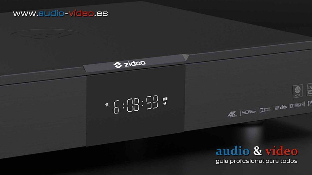 Reproductor Multimedia Zidoo UHD3000