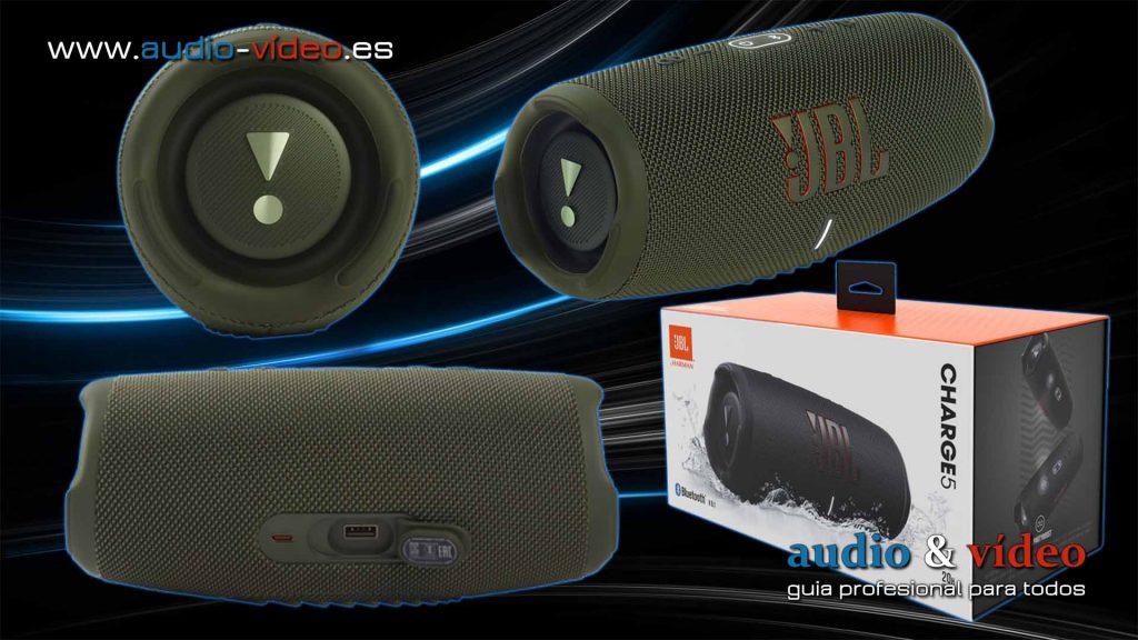 Altavoz Bluetooth JBL Charge 5 - dispositivo