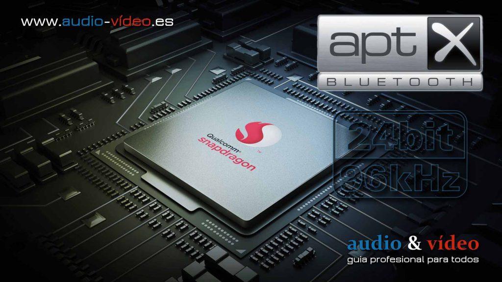 Chip Qualcomm Snapdragon aptX 24Bit / 96kHz