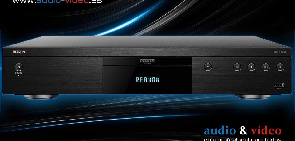 Reavon UBR-X100 y UBR-X200 – Reproductor 4K UHD, BluRay, SACD