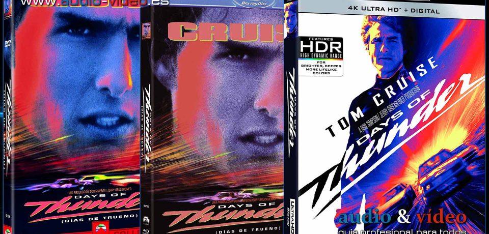 Días de trueno (Days of thunder) – 4K UHD, BluRay, DVD + soundtrack completo