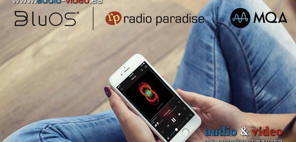 Radio Paradise MQA, disponible para BluOS