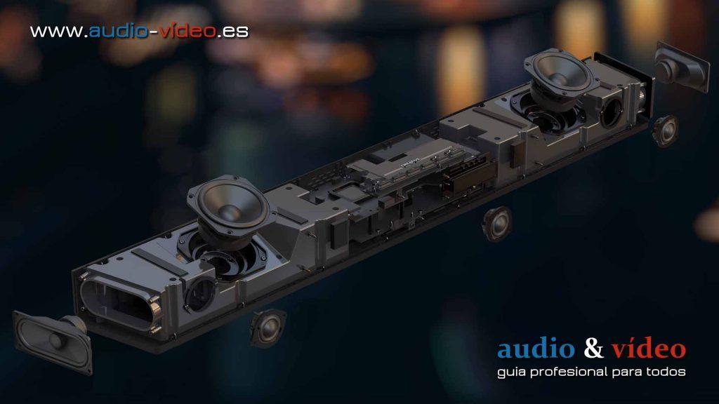Creative - Dolby Atmos SXFI Carrier - barra de sonido