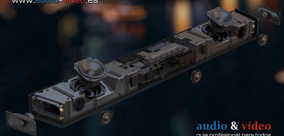 Creative – Dolby Atmos SXFI Carrier – barra de sonido