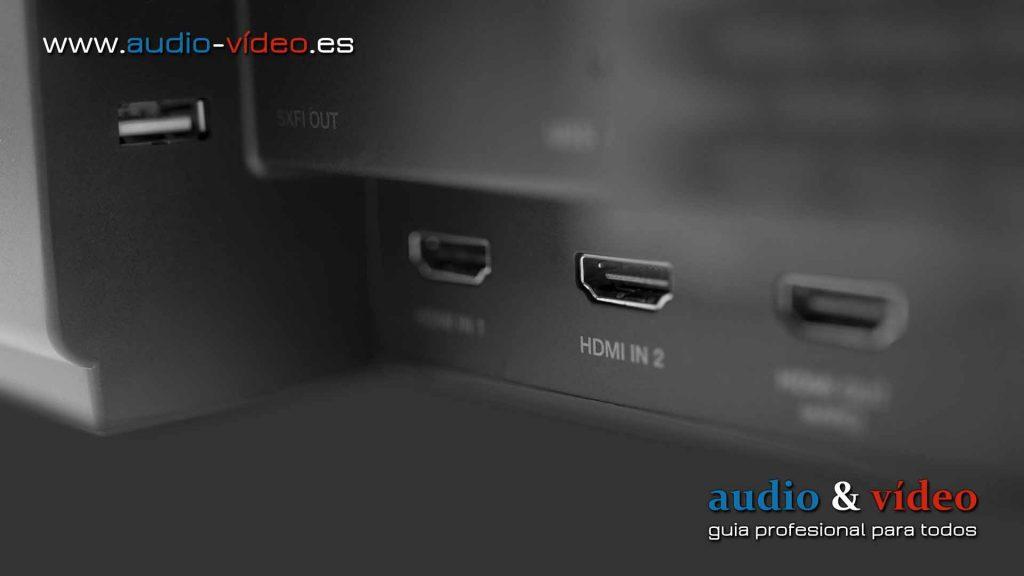 Creative - Dolby Atmos SXFI Carrier - barra de sonido - conectores