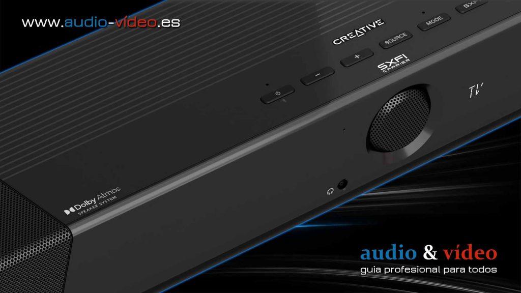 Creative - Dolby Atmos SXFI Carrier - barra de sonido - controladores