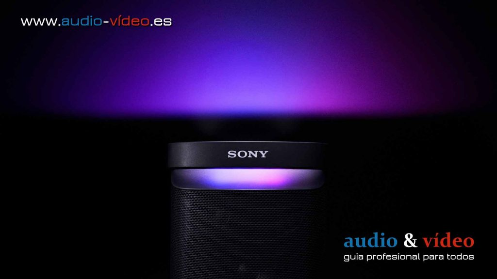 Altavoz Bluetooth Sony SRS-XP700 - luz