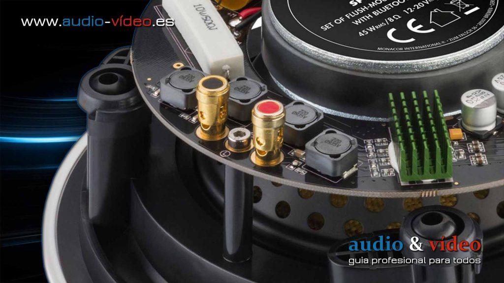 Altavoces activos vs. pasivos - un intento de evaluación - altavoz con amplificador integrado