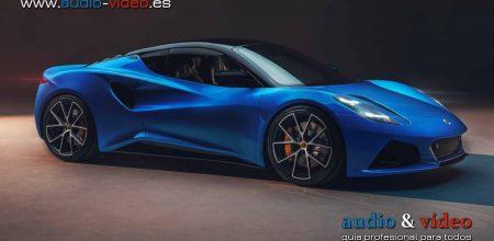 KEF desarrolla un sistema de sonido para los coches deportivos de Lotus Emira