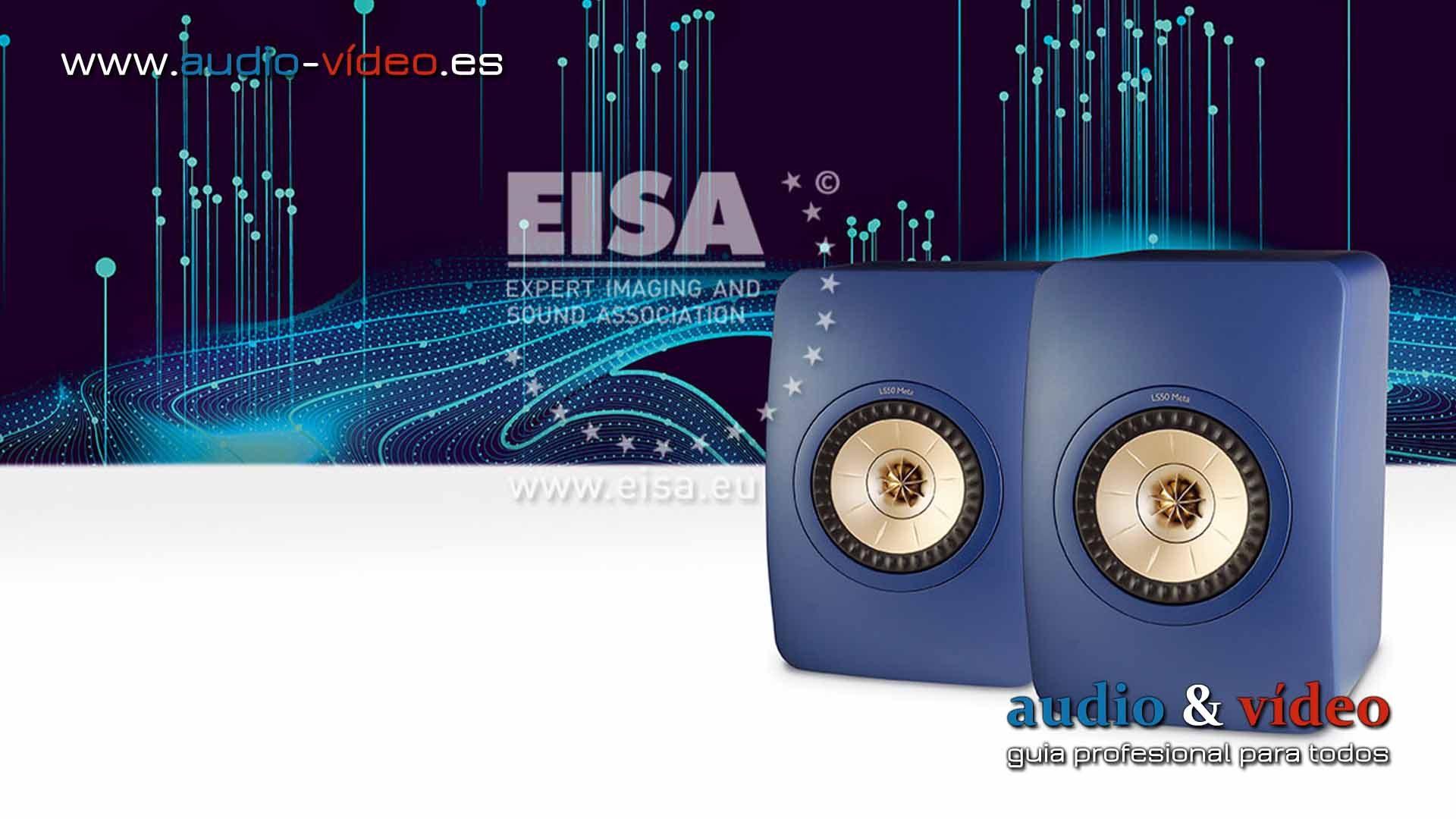 KEF LS50 Meta – altavoces EISA 2021-2022