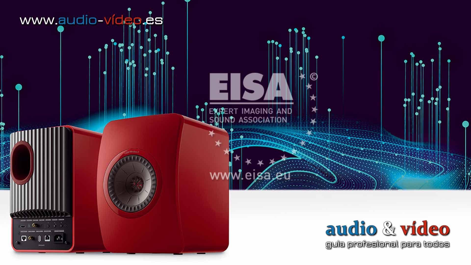 KEF LS50 Wireless II – altavoces inalámbricos EISA 2021-2022