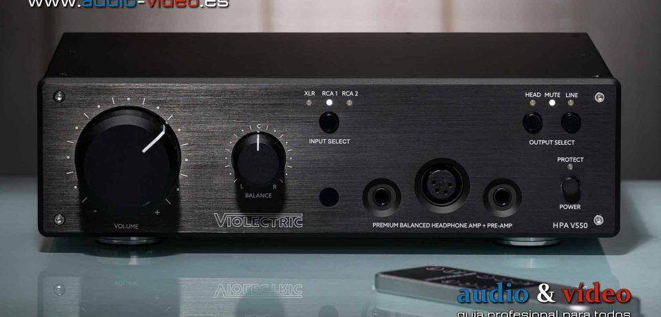Violectric V550, V550 Pro y V340 – amplificadores de auriculares