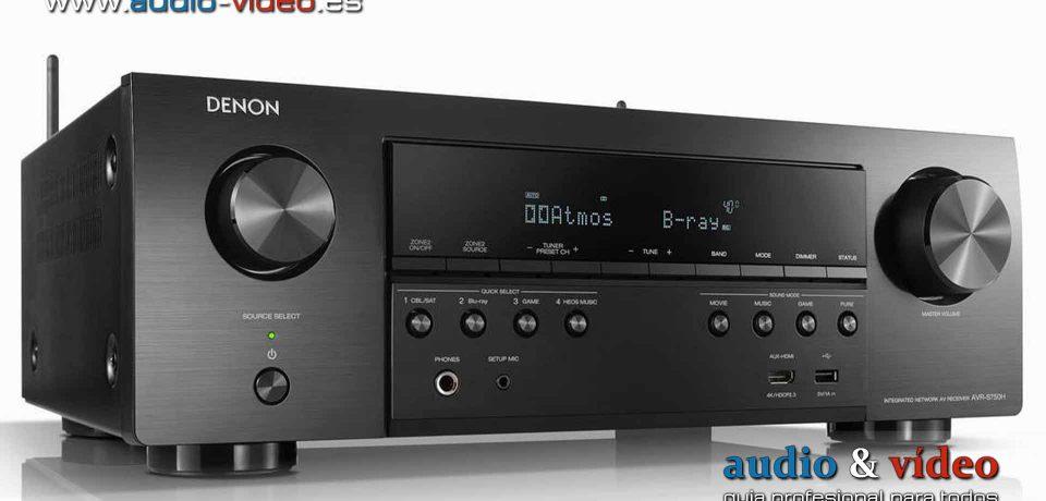 Denon AVR-S760H: el primer amplificador AV con Dolby Atmos