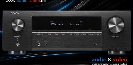 Denon AVR-X1700H – 7.2ch: nuevo diseño interno y escalado a 8K