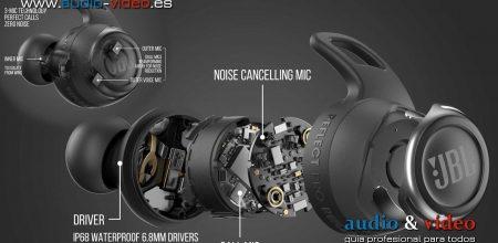 JBL Reflect Flow PRO – auriculares inalámbricos TWS