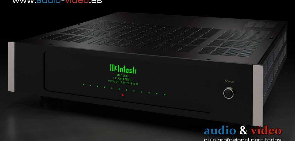 McIntosh MI1250 – amplificador digital de 12 canales