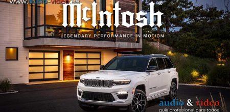 McIntosh MX950 en el Jeep® Grand Cherokee 2022